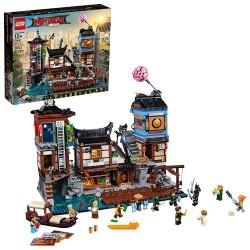 the lego ninjago movie ninjago city docks 70657-