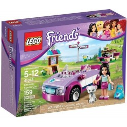 lego friends 41013friends emmas sports car set new in box sealed