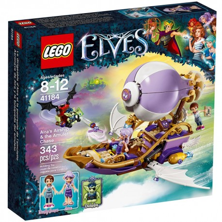 lego elvesairas airship the amulet chase 41184