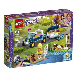 lego friends stephanies buggy trailer 41364