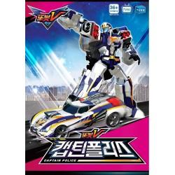 tobot v captain police robot transformers