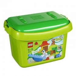 lego duplo 4624 green brick box 4624 set new in box 4624