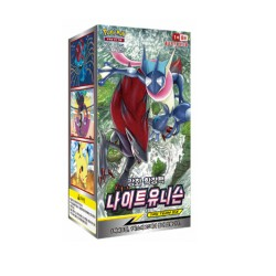 pokemon card night unison booster extension korean