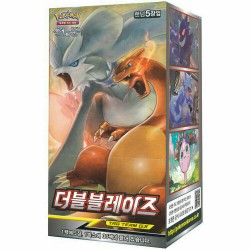 pokemon card double blaze sm10 5sheet 30pack