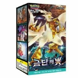 pokemon cards sm6 forbidden light 30 packs booster box sun and moon korean ver