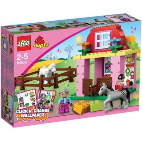 lego duplo 10500 horse stable set new in box