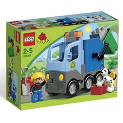 LEGO DUPLO 10519 skraldebil sat nye i rubrik