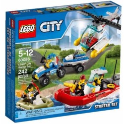 lego city 60086 city town lego starter