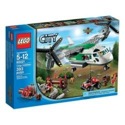 lego city 60021 Przewóz ładunków zestaw heliplane
