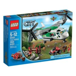 lego city 60021 transportation cargo heliplane set