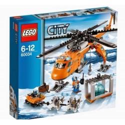 レゴ都市60034北極helicraneビルのおもちゃ