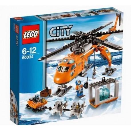 lego city 60034 arctic helicrane building toy