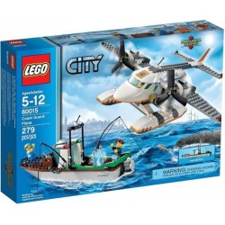 lego city 60015 coast guard plane set